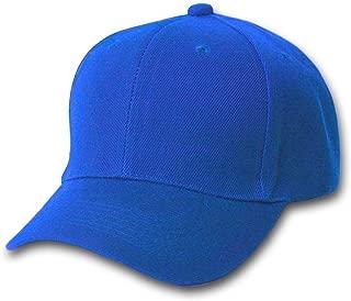 Structured Baseball Hat Cap, Royal Blue