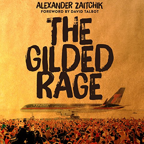 The Gilded Rage audiobook cover art