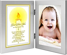 Godchild Baptism Keepsake Gift from Godparents - Add Photo
