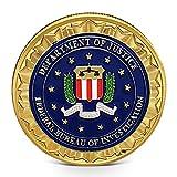 Imachine FBI Challenge Coin