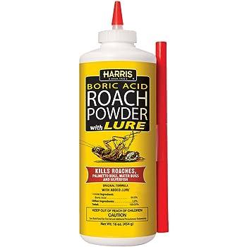 Amazon Com Zap A Roach Boric Acid Roach And Ant Killer Odorless And Non Staining 1 Lb Garden Outdoor