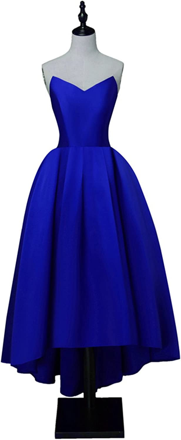 WHZZ Women's Short Homecoming Dresses HiLo Bridesmaid Prom Party Formal Dresses WHZZ284