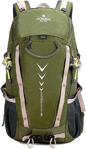 LXYIUN Sac à Dos De Voyage,De Plein Air Alpinisme Grande Capacité Sac à Dos,vert