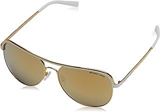 5f4c74fc6a8 Michael Kors VIVIANNA I MK1012 Sunglasses 11127P-58 - Gold White Frame