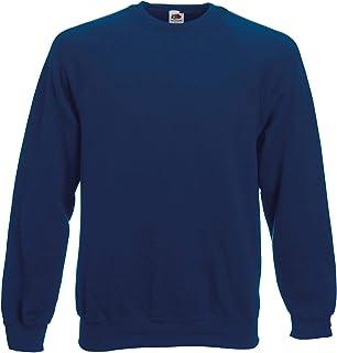 Fruit of The Loom Classic 80/20 Raglan Sweatshirt Blank Plain SS270