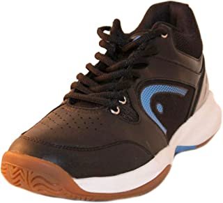 Men's Sonic 2000 MID Racquetball/Squash Indoor Court Shoes (Non-Marking) (Black/Blue & White/Blue Available)