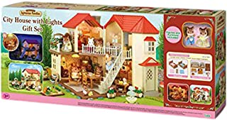 Sylvanian City House with Lights Gift Set