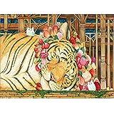 Leaixiang Tigre Puzzle de Piezas Adultos de 1000 Piezas,58.8x37.8cm /...