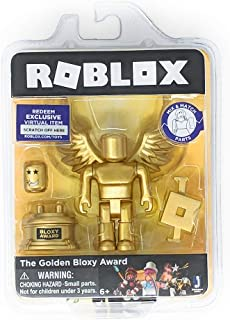 Roblox Gold Collection The Golden Bloxy Award Single Figure