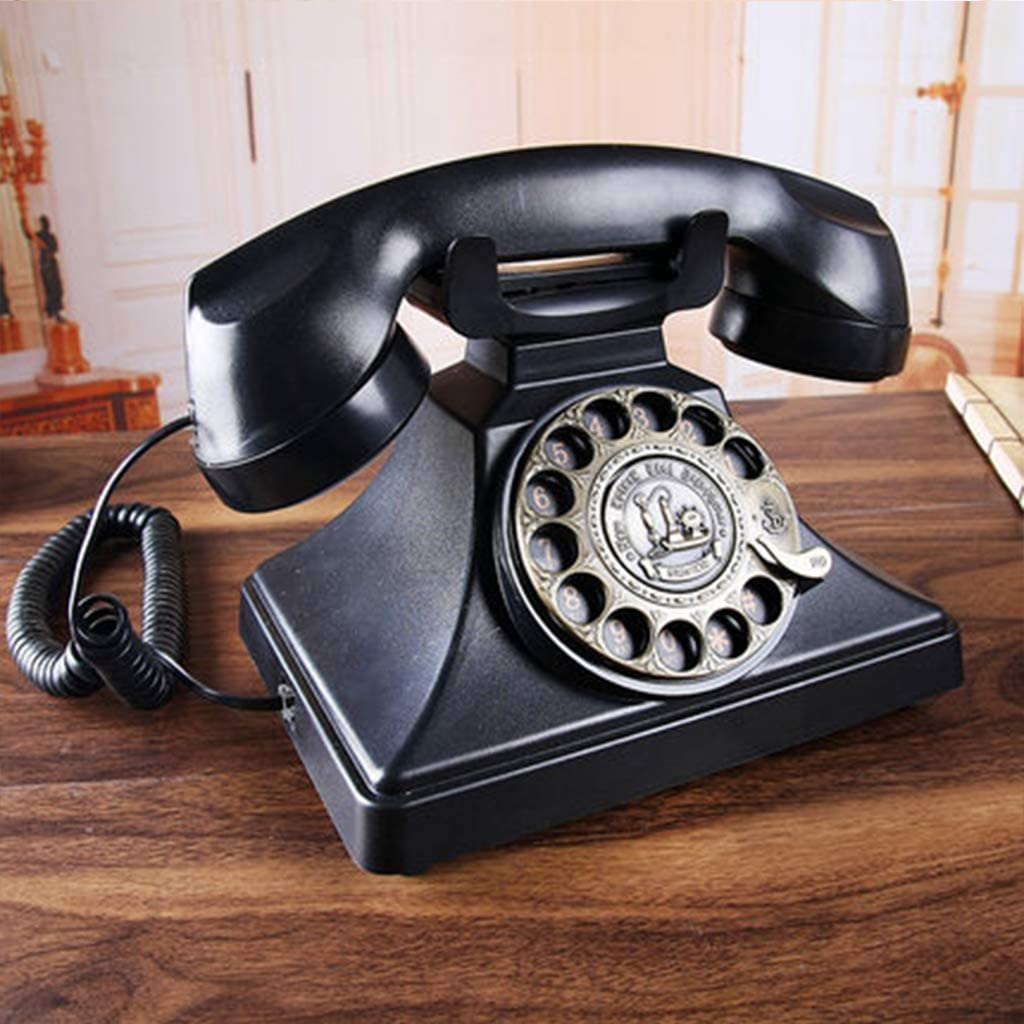 AIBAB Vintage Jacksonville Mall Antique Telephone Retro Office Overseas parallel import regular item Home Landline Phone