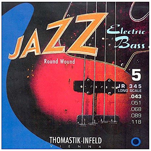 Thomastik Cuerdas para Bajo Eléctrico Jazz Bass Serie niquel entorchado redondo de...