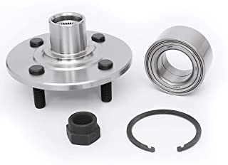 FKG 518514 Front Wheel Bearing Hub Assembly fit for 1994-2002 Saturn SC1 SC2 SL SL1 SL2, 1994-1999 Saturn SW1, 1994-2001 Saturn SW2, 4 Lugs