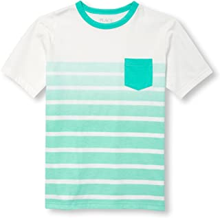 The Children's Place Big Boys' Short Sleeve Fashion T-Shirt