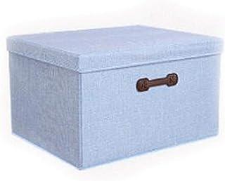 Lpiotyucwh Paniers et Boîtes De Rangement, Boîte de rangement de grande capacité Vêtements de stockage Boîte de rangement ...