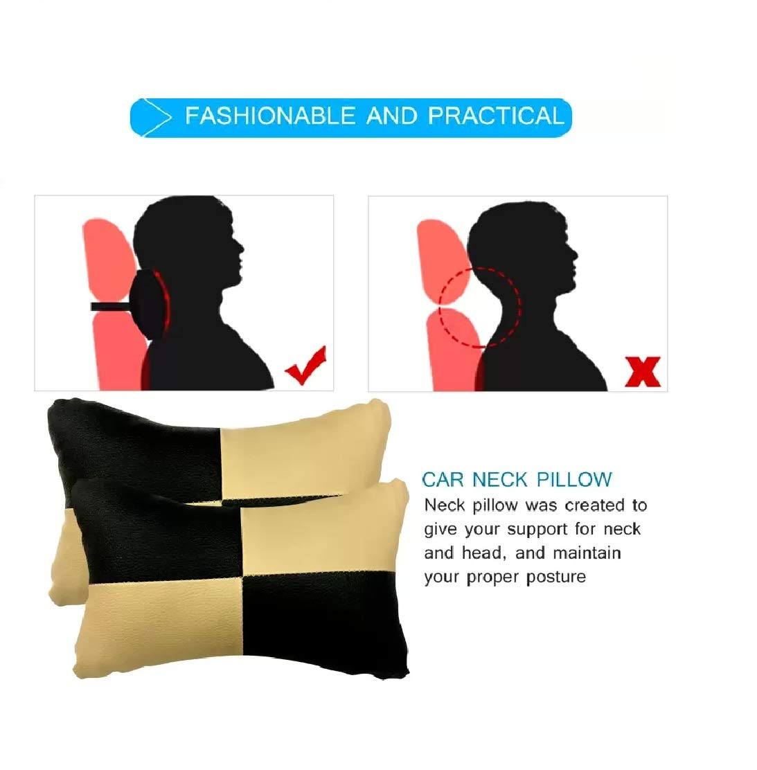 7 Best Neck Rest and Back Rest for Car