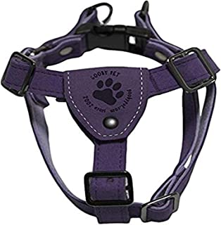 Gooby Luxury Step-In Harness, Large, Purple