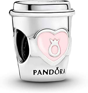 Pandora Jewelry Take a Break Coffee Cup Sterling Silver Charm