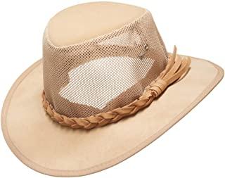 قبعة شمس شبكية، قبعات رجالية سترو جولف سوكر كاوبوي قبعات الصيف واسعة الحواف سفاري الصيد في الهواء الطلق هدايا عيد الحب