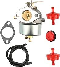 Butom 632370A 632370 632110 Carburetor with Tune Up Kit for Tecumseh HM100 HMSK90 HMSK100 Toro 38555 38556 1028 Snowthrower
