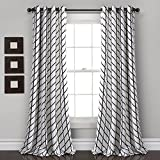 Lush Decor Feather Arrow Geo Room-Darkening Window Curtain Set (84' x 52')