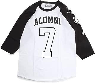 """Tha Alumni Clothing (アルムナイクロージング) ロゴ ラグランTシャツ ホワイト×ブラック""""OPENING DAY RAGLAND TEE"""" [並行輸入品]"""