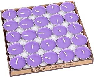 Best purple tea lights unscented Reviews