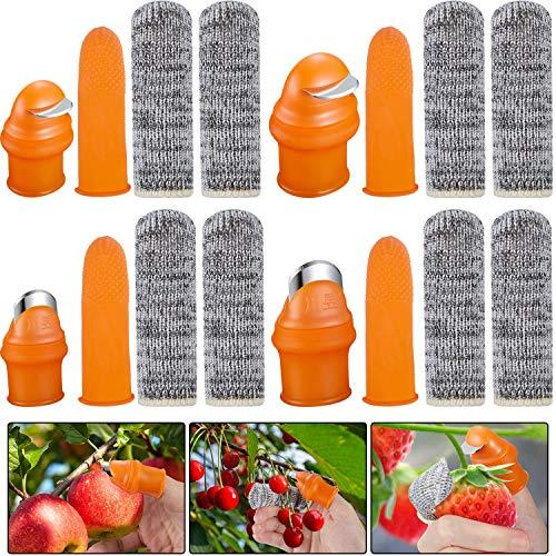 16 Herramientas de Cuchillo de Pulgar Cuchillo de Dedo de