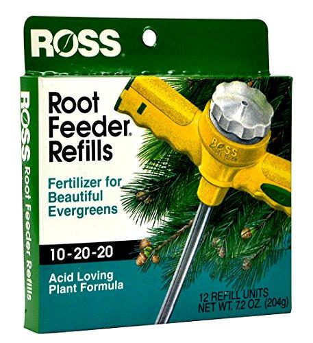 Ross Evergreen Shrub and Tree Fertilizer Refills for Ross Root Feeder,...