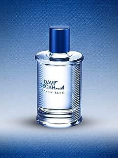 David Beckham Classic Blue for Men, 3 oz EDT Spray