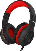 Mpow CH6 Auriculares para niños, Volumen Limitado en el oído Auriculares para niños con Conector de Audio de 3.6 mm para niños, niñas y niños, Auriculares con Cable Ajustable y Plegable con micrófono