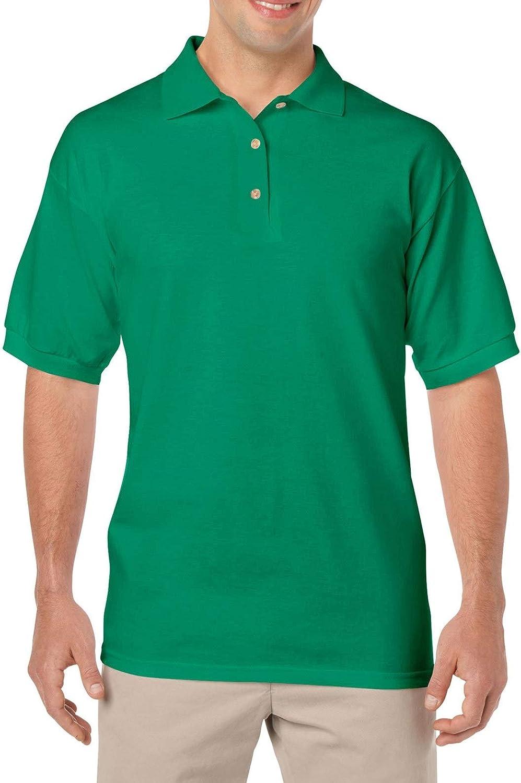 Gildan Men's DryBlend Preshrunk Short Sleeve Polo Shirt