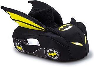 Batman Batmobile Boys Sock Top Slippers (Toddler/Little Kid)
