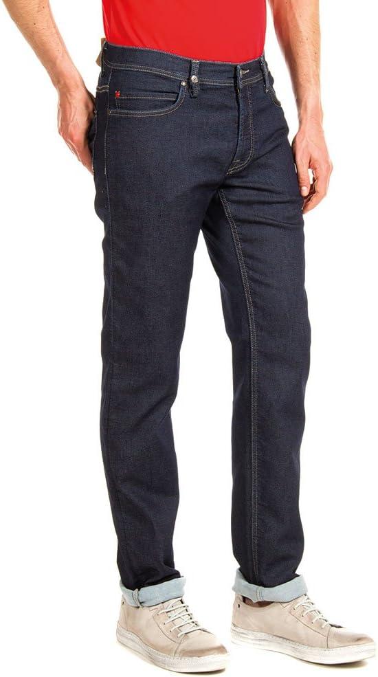 Carrera Jeans - Jeans Passport pour Homme, Tissu Extensible 100 - Lavage Bleu Foncé