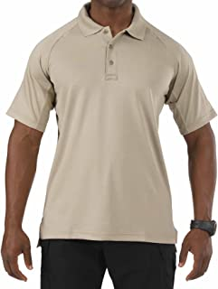 5.11 Tactical Performance Short Sleeve Polo Shirt, Moisture Wicking Polyester, Style 71049