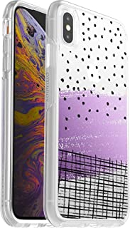 OtterBox Symmetry Series Case for iPhone Xs MAX - Retail Packaging - Hand Doodle