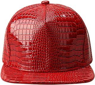 XRDSS الرجال النساء بو الجلود الهيب هوب شقة بيل Snapback قبعة البيسبول التمساح