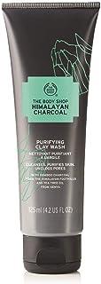 The Body Shop Himalayan Charcoal Purifying Clay Wash For Women, 4.2 Oz.