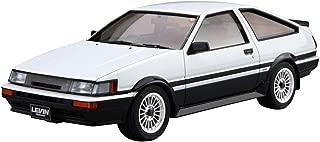 Aoshima Bunka kyozai 1/24 Cars series No.17 Toyota AE86 Corolla Levin GT-APEX 1985 Plastic model