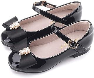 Girl's Little Heel Ballet Dress Shoes Princess Mary Jane...