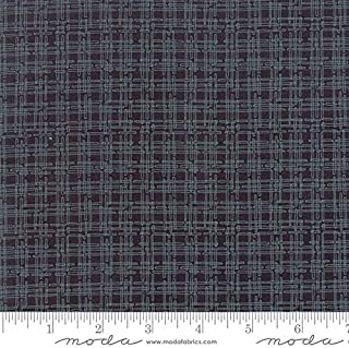 Dandi Annie by Robin Pickens Quilt Fabric Geo Plaid Charcoal Style 48636/12