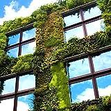 RH Art Sonnenschutzfolie Fenster UV-Schutz Verdunkelungsfolie Sichtschutz Spiegelfolie - Silber, 90 x 200 cm - 7