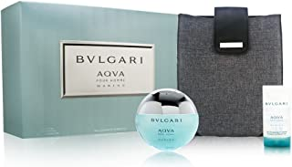 Bvlgari AQVA Marine Pour Homme by Bvlgari 3 Piece Set Includes: 3.4 oz Eau de Toilette Spray + 2.5 oz Shampoo and Shower Gel + PC or iPad Cover