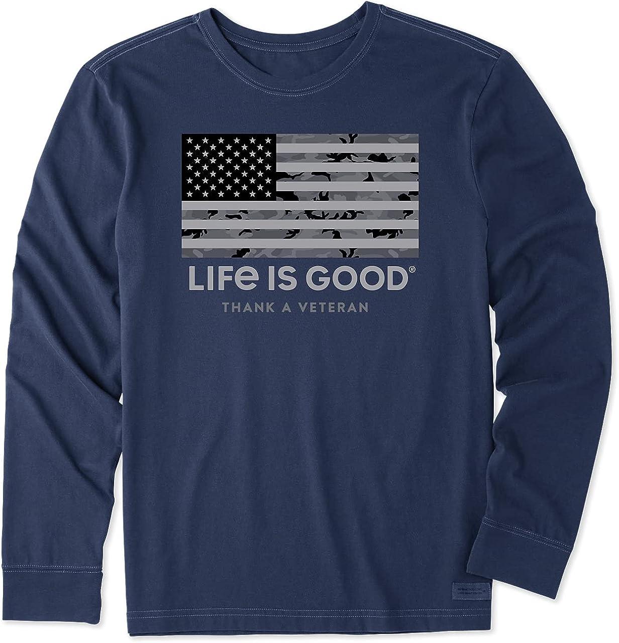 Life is Good Men's Ls Crusher Bucket List