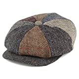 Gorros Failsworth Harris de Tweed, Lewis Newsboy, multicolor multicolor 58cm