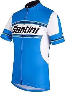 Santini Men's Tau Short Sleeve Printed Jersey