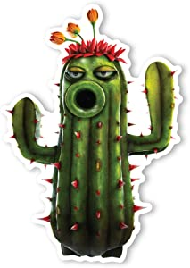 Plants vs. Zombies Garden Warfare Wall Decal: Cactus I (8.5 in x 12 in)