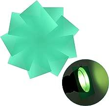 Neewer 9-Pack Gel Filter, Colored Overlays, Transparent Color Film Plastic Sheets, Correction Gel Light Filter for Photo Studio Strobe Flash, LED Video Light, DJ Light, etc. 11.8x7.9 inches (Green)