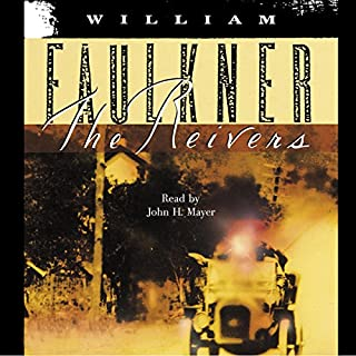 The Reivers                   By:                                                                                                                                 William Faulkner                               Narrated by:                                                                                                                                 John H. Mayer                      Length: 11 hrs and 22 mins     169 ratings     Overall 4.0