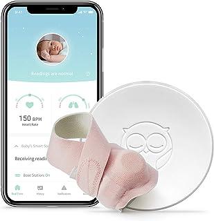 Owlet Smart Sock 2 Baby Monitor, Pink