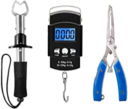 XBLACK Fishing Tool Kit Fishing Pliers Fish Gripper...